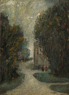 thorsteinulf:  Laurence Stephen Lowry - Landscape (c.1912)