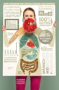 Das Cover der PAGE 04.2012 zum Thema »Infografik«, gestaltet von Grimm Gallun Holtappels