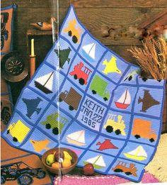 Boy's Blanket