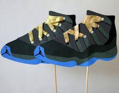 Teen Boy Birthday Jordan Shoes Party Centerpiece by bcpaperdesigns, $12.00