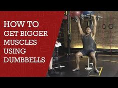 How to get bigger muscles using dumbbells diy channel youtube