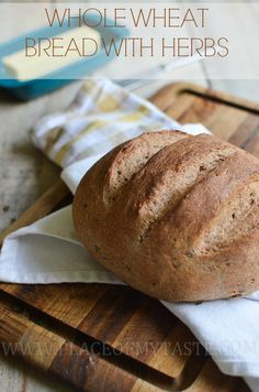 WHOLE WHEAT BREAD WITH HERBS -