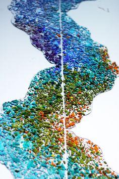 fused glass art / füzyon cam sanatı / sinem güler