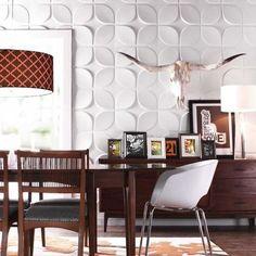 Lotus Wall Flats™ 500x500mm, Decorating - Decorative Wall Panels
