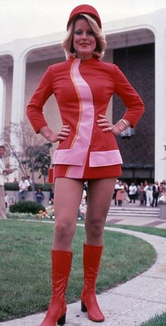 A Pacific Southwest Airlines uniform from 1973