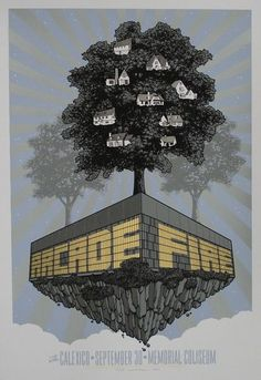 Arcade Fire_Tour Poster