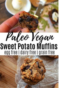 A perfectly packable nutritious muffin made with no allergens! Sweet Potato Muffins, Paleo Sweet Potato, Paleo Recipes, Real Food Recipes, Free Recipes, Healthy Sweet Treats, Gluten Free Grains, Make Ahead Lunches, Unprocessed Food