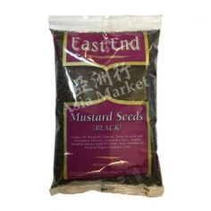 East End Black Mustard Seeds 400g