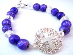 You will absolutely love this #Purple Bracelet by #AboutJesusDesigns on #Etsy