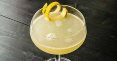Sweet and citrusy, this innovative take on the classic Corpse Reviver could most certainly wake the dead.