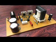 How to make Power Supply for use at home Arduino Wireless, Power Supply Circuit, Science And Technology, Make It Yourself, Quotes, Youtube, Tecnologia, Ideas, Quotations
