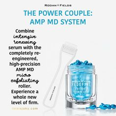 COMING OCTOBER 18TH! | Power Couple | AMP MD | Retinal | Better than Retinol | Micro Needling | anti aging | skincare | Rodan and Fields | R+F | www.thisisjaky.com