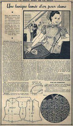 Le Petit Écho de la Mode - 26 décembre 1937