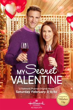 "Lacey Chabert and Andrew Walker star in ""My Secret Valentine,"" a new, original movie premiering Saturday, February 3 (9:00 p.m. ET/PT) on Hallmark Channel. Plot: Chloe (Chabert) is upset her dad might sell their winery and ""stress snacks"" with a cute guy who turns out to be Seth (Walker), the wine rep. They spar until she goes to the cabin, rundown since her mom died. There she finds a note offering help from Handyman and she thanks him, signing In Need of Repairs."