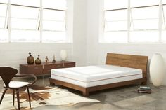 Sophisticated modern mattress made from three-layer technology