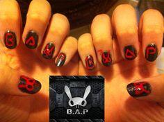 B.A.P nail art Kpop - Ellisy
