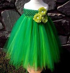 Green Tutu- Christmas Tutu- Holiday Dress- Infant Tutu- Baby Tutu- Photo Prop- Girls Tutu- Available In Size 0-24 Months. $32.95, via Etsy.