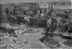Eve of Destruction: the Siege of Budapest began 70 years ago Old Pictures, Old Photos, Buda Castle, The Siege, Danube River, Budapest Hungary, Destruction, Historical Photos, World War Ii