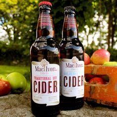 MacIvors Cider packaging