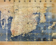 혼일강리역대국도지도(混一疆理歷代國都之圖)