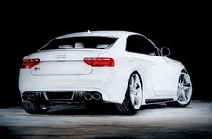 Audi S5. A3 size, with pencils, markers