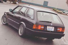BMW E30 Touring rear