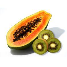 ¡Mímate! Hazte una mascarilla facial de Kiwi con Papaya.   Esta mascarilla te ayudará a exfoliar, nutrir y a disminuir la apariencia de manchas en el rostro.
