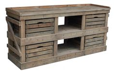 Sideboard with Crate Drawers : Sideboards, Consoles & Desks : C.C. Interiors Product Catalogue
