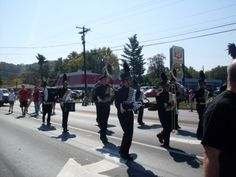 caroll co marching band. tobacco festival parade 2011