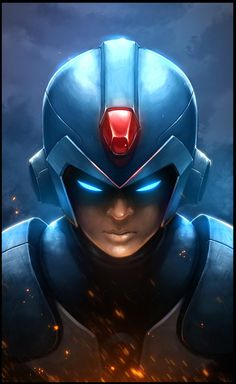 Mega Man :: Fred-H :: art (beautiful pictures) :: games Mega Man, Arte Nerd, Nerd Art, Geeks, Viewtiful Joe, Manga Anime, Science Fiction, Fighting Robots, Fanart