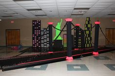 bright lights big city themed party | 0763 The Alex 2012 Junior-Senior Prom - themed Bright Lights; Big City ...