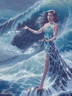 Yemanji Goddess One with Ocean a truly Beautiful Gif!!