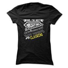 nice CLAUSING Name Tshirt - TEAM CLAUSING, LIFETIME MEMBER Check more at http://onlineshopforshirts.com/clausing-name-tshirt-team-clausing-lifetime-member.html