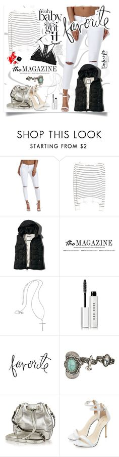 """""""The Favorite"""" by patri-fachini ❤ liked on Polyvore featuring MANGO, Abercrombie & Fitch, Thalia Sodi, Bobbi Brown Cosmetics, Heidi Swapp, maurices, Rebecca Minkoff and Chanel"""