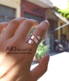 0e953e5c30 Online Exclusive - Ασημένιο σπιράλ δαχτυλίδι - ARTonomous    Style    Design  artonomous.