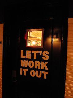 Entry to the Ace Gym, NYC, photo by Joanie Ballard