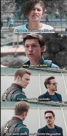 38 Incredibly Funny Spider-Man And Avengers Memes That Will Make Fans Laugh Like… - Marvel Fan Arts and Memes Marvel Avengers, Marvel Jokes, Ms Marvel, Humour Avengers, Hero Marvel, Funny Marvel Memes, Dc Memes, Funny Comics, Avengers Funny Quotes