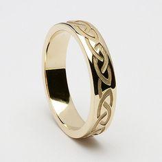 Caoimhe Celtic Wedding Ring (C-367)