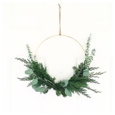 12 Garden Inspired Holiday Wreaths That You Can Copy Holiday Wreaths, Holiday Ornaments, Holiday Crafts, Christmas Decorations, Holiday Decor, Christmas On A Budget, Christmas Love, Xmas, Hobbies And Crafts