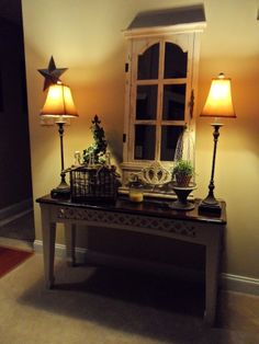Foyer Table Design Ideas   Foyer table saved!, This table was almost thrown away, until I spotted ...