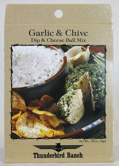 Garlic n' Chive Cheese Ball & Dip Mix