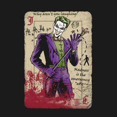 card | Jokers Wild | Pinterest | The Joker, Playing Cards and Jokers