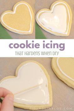 Watercolor Cookies - Kid + Kin