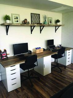 Nice farmhouse desk with hutch made easy