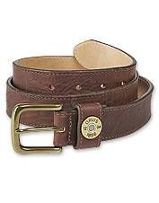 You'll love this thick but pliant version of our original sleek leather shotshell belt.