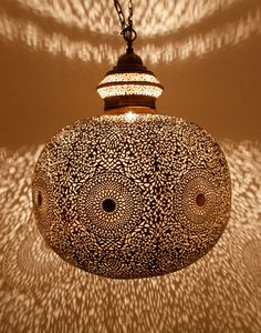 Antique Brass Ceiling Lamp Freaky effects for the pool house, hot house or home theatre.