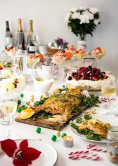 A collection of recipes on RecipeTin Eats for Christmas! Christmas Dinner Menu, Christmas Lunch, Christmas Dishes, Xmas, Christmas Holiday, Christmas Decor, Christmas Ideas, Parmesan Crusted Salmon, Herb Roasted Turkey