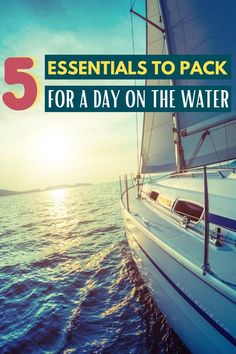 5 Essentials to pack for a day on the water while boating! Whether you're a seasoned sea traveler or going on your first adventure on a boat, the boating packing list is the hard part! After that, it's all smooth sailing! Packing the essentials for your boating day trip is important to enjoy your water day activities off the shore as a couple or with the whole family. For more boating tips, travel tips, packing lists and more read betsiworld.com #water #boating #travel #packing #betsiworld Packing Tips For Vacation, Packing Lists, Travel Packing, Travel Tips, Romantic Bucket List, Boating Tips, Water Day, Us Destinations, What To Pack
