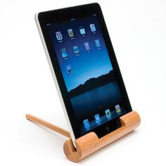 Travel Tablet/E-Reader Stand, $14, now featured on Fab. How neat is this?