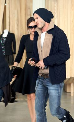 David Beckham love this outfit! Looks comfy, casual yet clean and semi formal